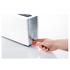 Graef 2 Slice Long Shot Toaster - White Gloss: Image 2