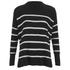 Polo Ralph Lauren Women's Dolman Sweatshirt - Black/White: Image 1