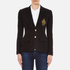 Polo Ralph Lauren Women's Custom Blazer - Polo Black: Image 1