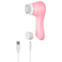 Magnitone London BareFaced Vibra-Sonic™ Daily Cleansing Brush - Pastel Pink: Image 3