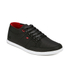 Boxfresh Men's Sparko Ripstop Low Top Trainers - Black/Chilli Red: Image 4