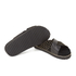 Senso Women's Kayden I Leather/Suede Double Strap Sandals - Ebony: Image 6