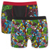 Marvel Men's 2 Pack All Over Print Boxers - Black: Image 1