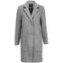 Y.A.S. Women's Monday Coat - Light Grey Melange: Image 1