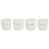 Keith Brymer Jones What Came First Egg Cups - White (Set of 4): Image 1