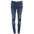 ONLY Women's Ultimate Skinny Jeans - Medium Blue Denim: Image 1