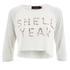 MINKPINK Women's Shell Yeah Crop T-Shirt - Multi: Image 1