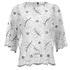Ganni Women's Lace Blouse - Vanilla Ice: Image 1