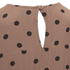 Ganni Women's Polka Dot Dress - Nougat Polka: Image 4