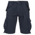 Brave Soul Men's George Cargo Shorts - Navy: Image 1