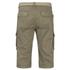 Brave Soul Men's Radical Belted Cargo Shorts - Stone: Image 2