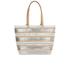 Loeffler Randall Women's Beach Tote Bag - White/Silver/Natural: Image 5