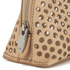 Loeffler Randall Women's Small Perforated Cosmetic Bag - Nude: Image 3