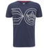 Crosshatch Men's Pegasus Print T-Shirt - Iris Navy: Image 1
