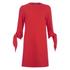 Tibi Women's Tie Sleeve Dress - Scarlet Red: Image 1
