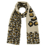 Marc by Marc Jacobs Women's Painted Scarf - Leopard: Image 1