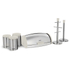 Tower IDT81200 6 Piece Kitchen Storage Set - White: Image 1