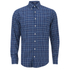 GANT Men's Tiebreak Twill Check Shirt - Marine: Image 1