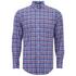 GANT Men's Matchpoint Poplin Check Shirt - Hurricane Blue: Image 1