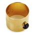 Marc by Marc Jacobs Women's Puzzle Cabochon Bangle - Gold: Image 2