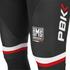 PBK Santini Replica Team Bib Tights - Red/White/Black: Image 3
