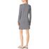 MICHAEL MICHAEL KORS Women's Zip Detail Stripe Dress - New Navy/White: Image 3