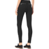 MICHAEL MICHAEL KORS Women's Rockr Zip Skinny Pant - Black/Silver: Image 3