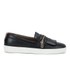 H Shoes by Hudson Women's Beata Tassle Leather Slip On Trainers - Black: Image 1