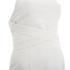 Lavish Alice Women's Cross Strap Tie Detail High Neck Midi Dress - White: Image 6