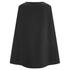 Lavish Alice Women's Cape Crop Top - Black: Image 3