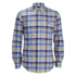 Polo Ralph Lauren Men's Checked Button Down Shirt - Blue: Image 1