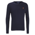 Polo Ralph Lauren Men's Crew Neck Pima Cotton Knitted Jumper - Hunter Navy: Image 1