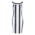Finders Keepers Women's Wicked Games Dress - Stripe: Image 1