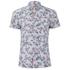 BOSS Orange Men's Ezippoe1 Floral Short Sleeve Shirt - Multi: Image 1