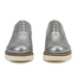 Grenson Women's Emily V Grain Leather Brogues - Silver: Image 4
