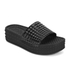 Ash Women's Scream Flatform Slide Sandals - Black: Image 3