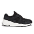 Ash Women's Mood Bis Puff/Neoprene Trainers - Black: Image 1