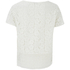 VILA Women's Bassi Short Sleeve Lace Top - Snow White: Image 2