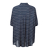 VILA Women's Very Short Sleeve Striped Shirt - Total Eclipse: Image 2