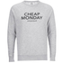 Cheap Monday Men's Rules Logo Sweatshirt - Grey Melange: Image 1