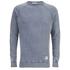 Cheap Monday Men's Rules Denim Sweatshirt - Stone Blue: Image 1