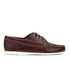G.H Bass & Co. Men's Camp Moc Jackman Pull Up Leather Boat Shoes - Dark Brown: Image 1