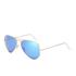 Ray-Ban Aviator Large Metal Sunglasses - Crystal Brown: Image 2