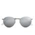 Ray-Ban Round Metal Sunglasses - Matte Silver: Image 1