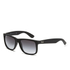 Ray-Ban Justin Rubber Sunglasses 54mm - Black: Image 2