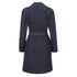 HUGO Women's Mintu Trench Coat - Blue: Image 4