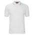 HUGO Men's Delorian Tipped Polo Shirt - White: Image 1