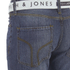 Smith & Jones Men's Farrier Belted Denim Jeans - Medium Wash: Image 3