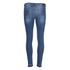 BOSS Orange Women's J10 Florida Frayed Cuff Jeans - Blue: Image 4