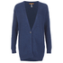BOSS Orange Women's Wirele Knitted Cardigan - Dark Blue: Image 1